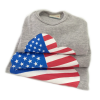 US flag with love details 2